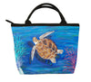 loggerhead sea turtle purse