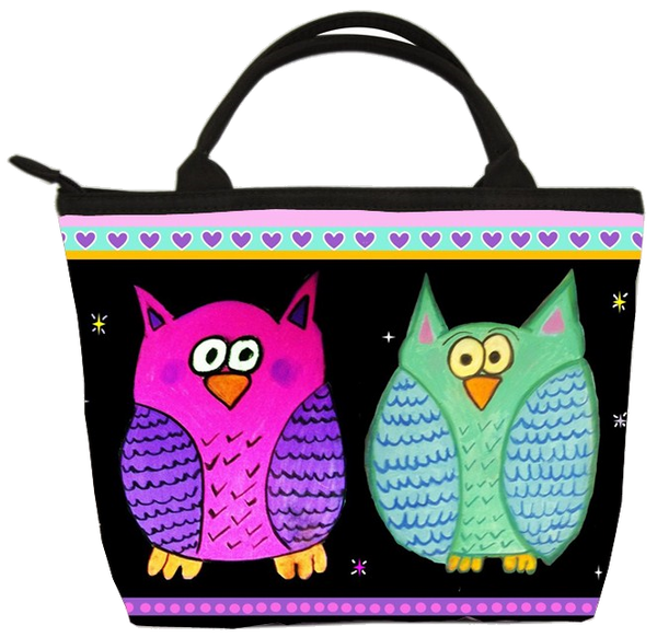 Adorable owl bag