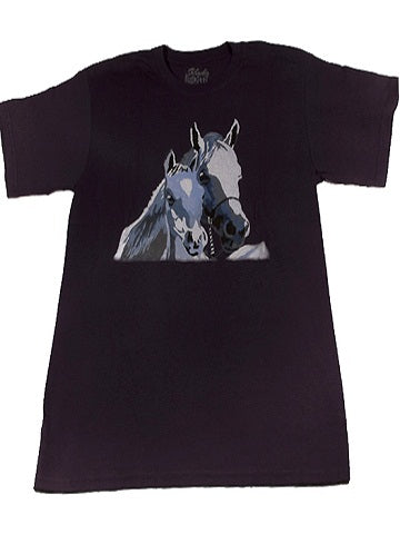 made in the USA horse t-shirt