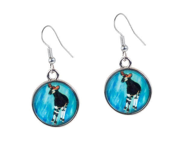 okapi earrings
