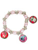 Animal Charm Bracelet Set of Two