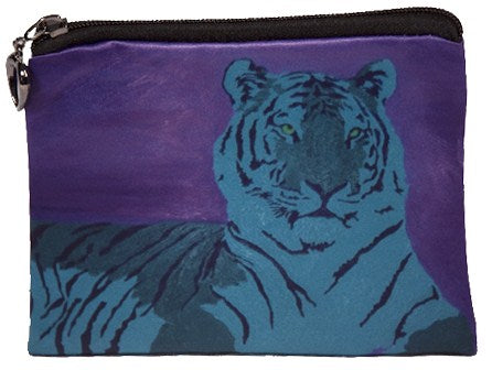 Abstract tiger coin purse
