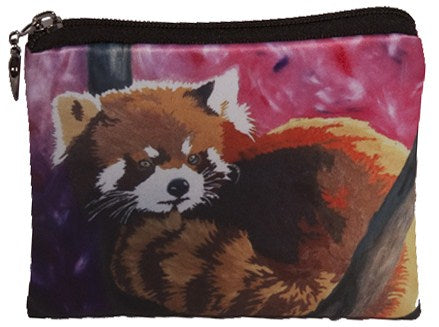 red panda coin purse