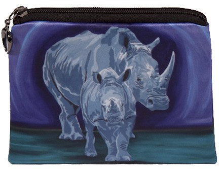 rhino coin purse