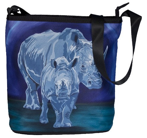 rhino large cross body bag
