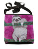 sloth large cross body bag rose pink