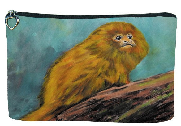 Golden Lion Tamarin Cosmetic Bag - Mutualistic