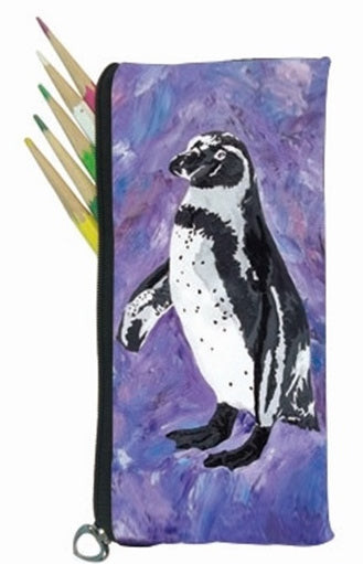 penguin pencil bag