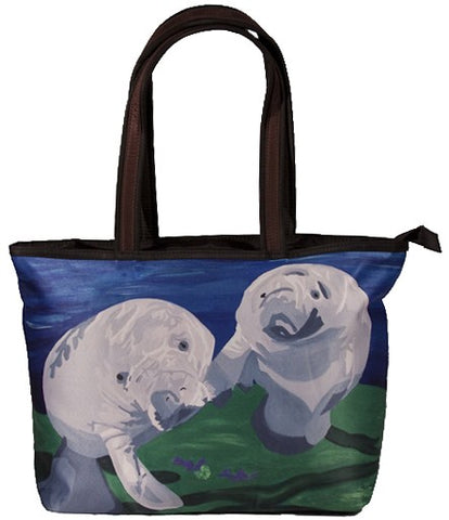 manatee shoulder bag
