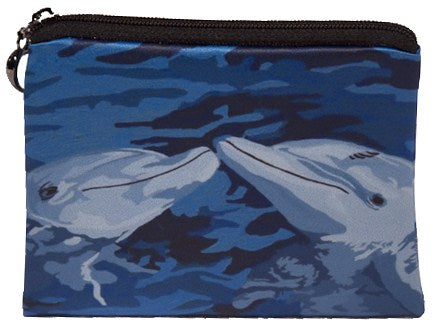 dolphin change purse