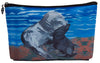sea lion zip top pouch