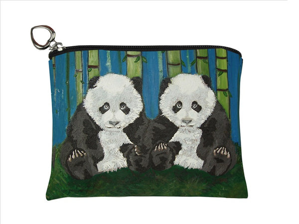 panda cubs change purse