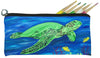 green sea turtle pencil bag soft eye glasses case