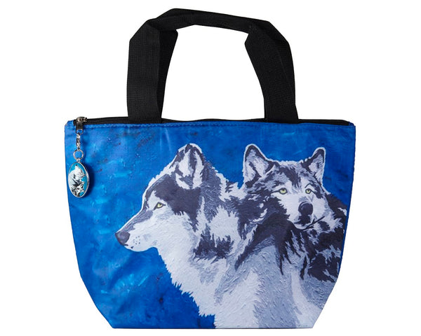 wolf reusable lunch bag