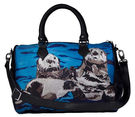 Sea otter satchel bag