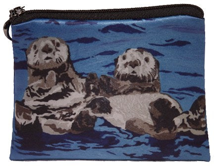 sea otter change purse