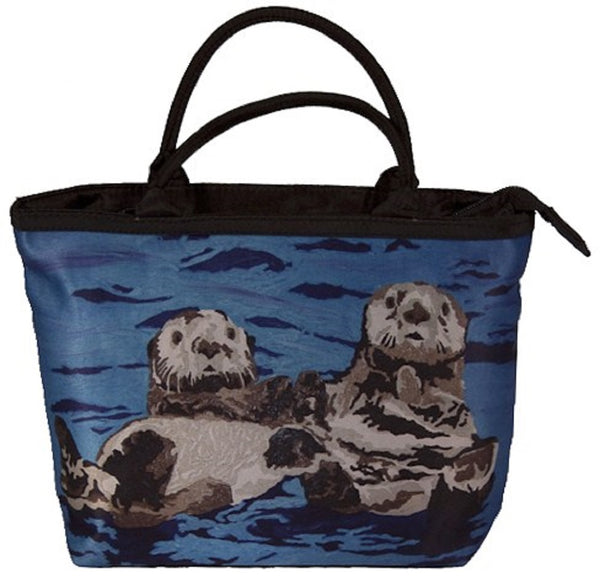 sea otter purse