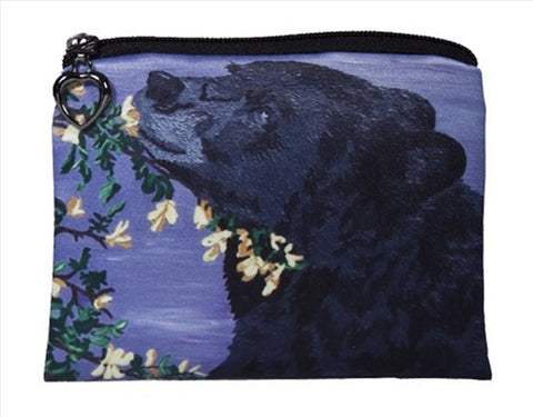 black bear coin purse
