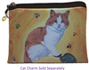 Cat Change Purse- Paw in the Paint