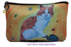 Cat Cosmetic Bag- Paw in the Paint