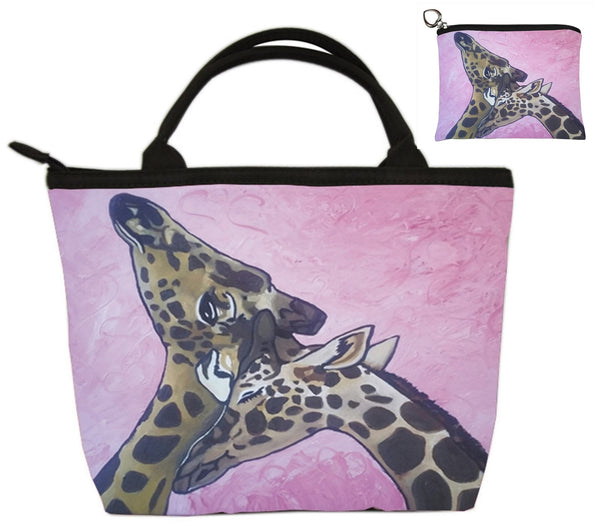 giraffe purse set