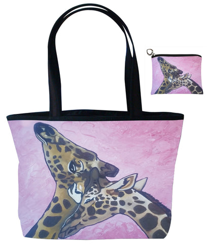 giraffe shoulder bag matching set