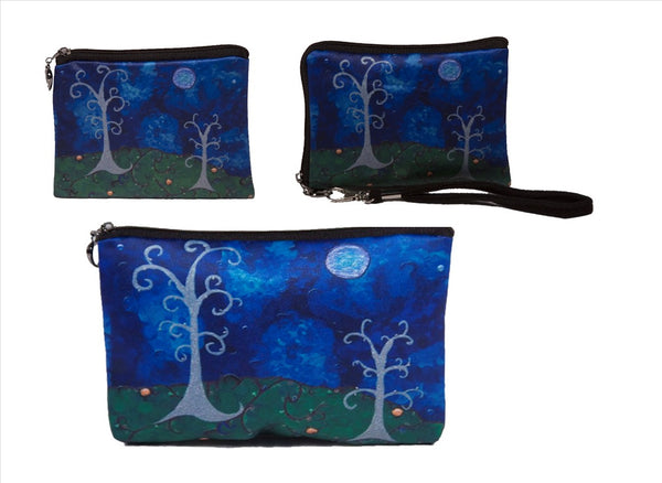 Whimsical Trees Three Piece Set - The Couple