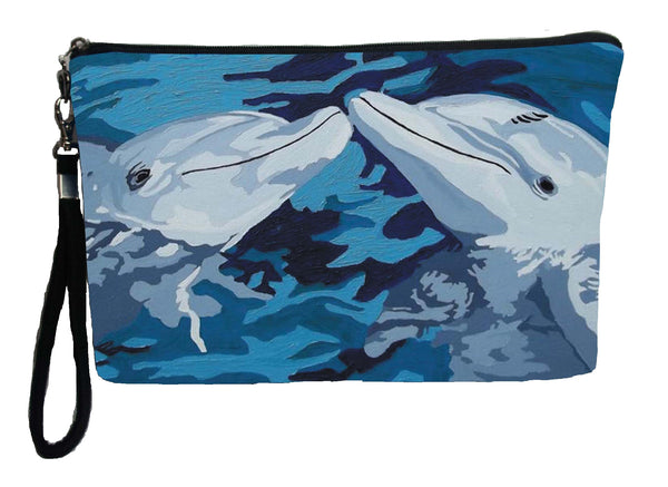 dolphin pencil bag