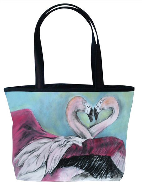 Flamingo Purrfect Tote - Synchronous Nesting