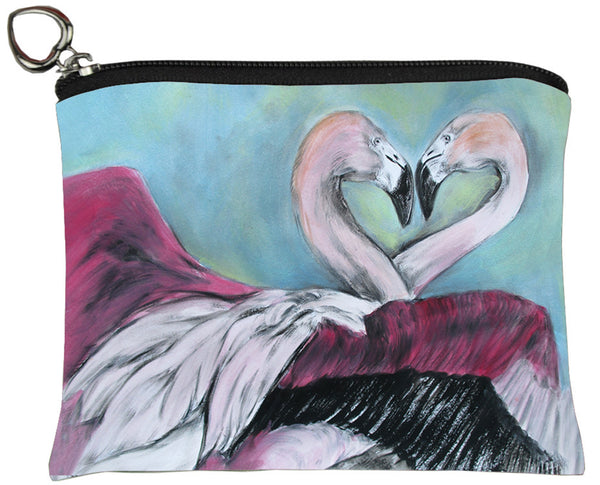 Flamingo Change Purse - Synchronous Nesting