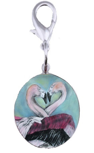 Flamingo Bag Charm - Synchronous Nesting