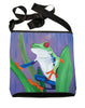 red eyed tree frog cross body bag