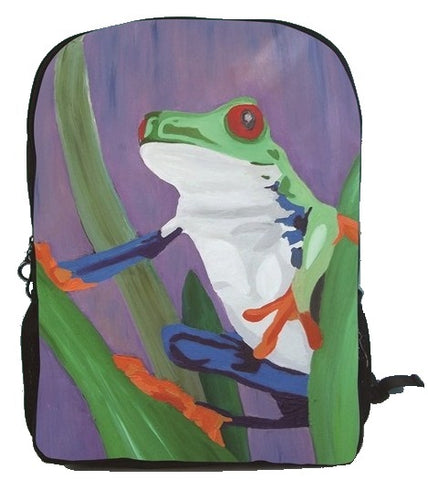 frog backpack