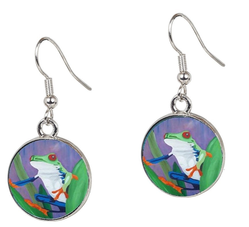 Frog Earrings – Kaleidoscope