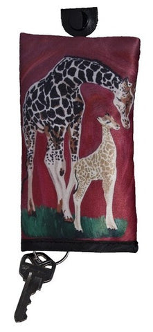 giraffe key case