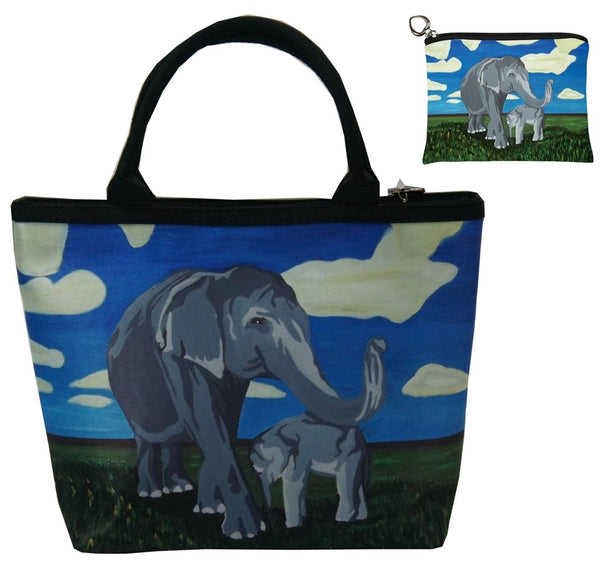 elephant matching bag set
