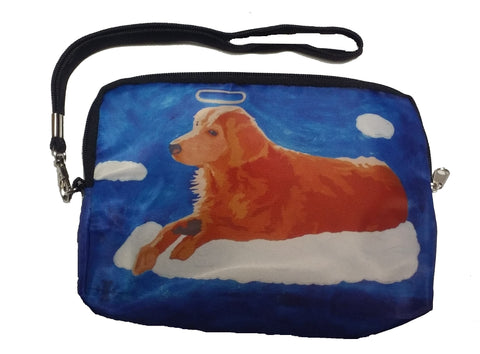 Golden Retriever Wristlet