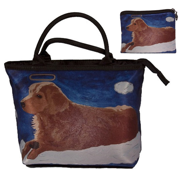 dog angel matching bag set