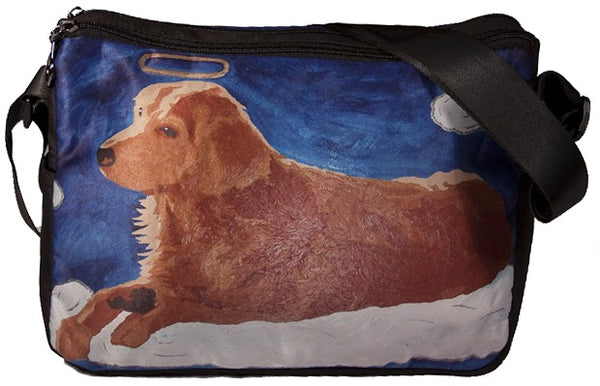 dog messenger bag