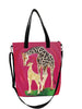 Giraffe Canvas Shoulder Bag - Full Circle