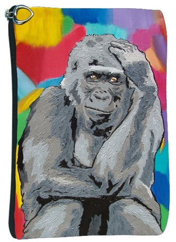 Gorilla cosmetic bag