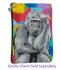 Gorilla Cosmetic Bag - The Thinker