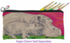 Hippo Kitten Pencil Bag -Communal Clan