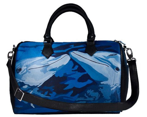 dolphin leather bag