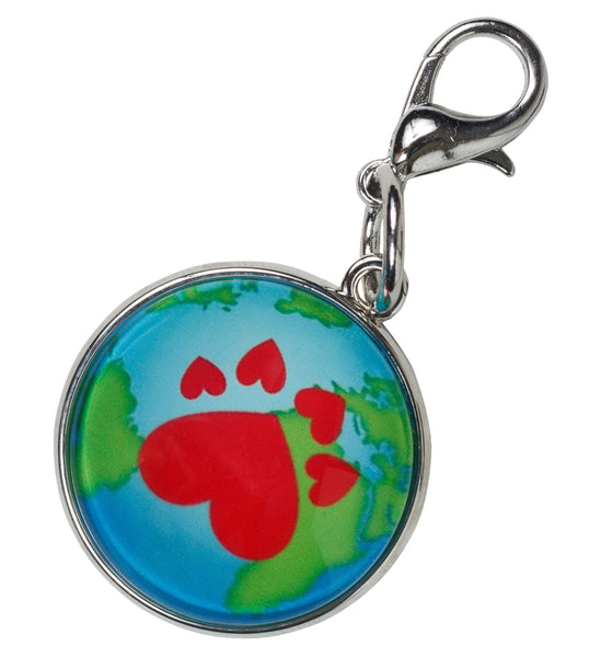 Signature Paw Print Bag Charm