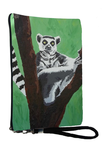 Ring tailed lemur wristlet