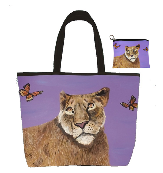 lioness matching bag set