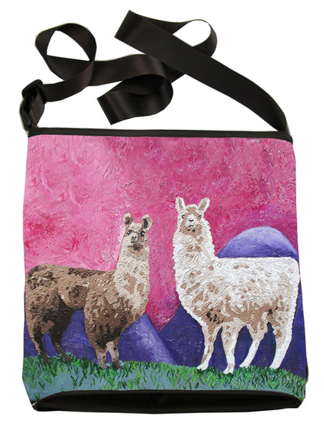 Llama Kitten Cross Body Bag - Andeans
