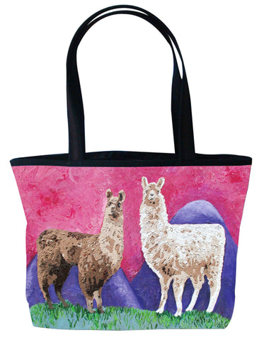 Llama Purrfect Tote - Andeans
