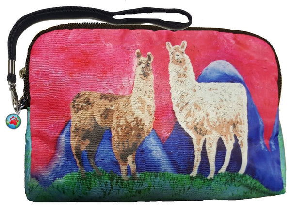 Llama Signature Wristlet - The Andeans